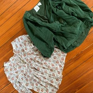 Two Anthropologie blouses bundle